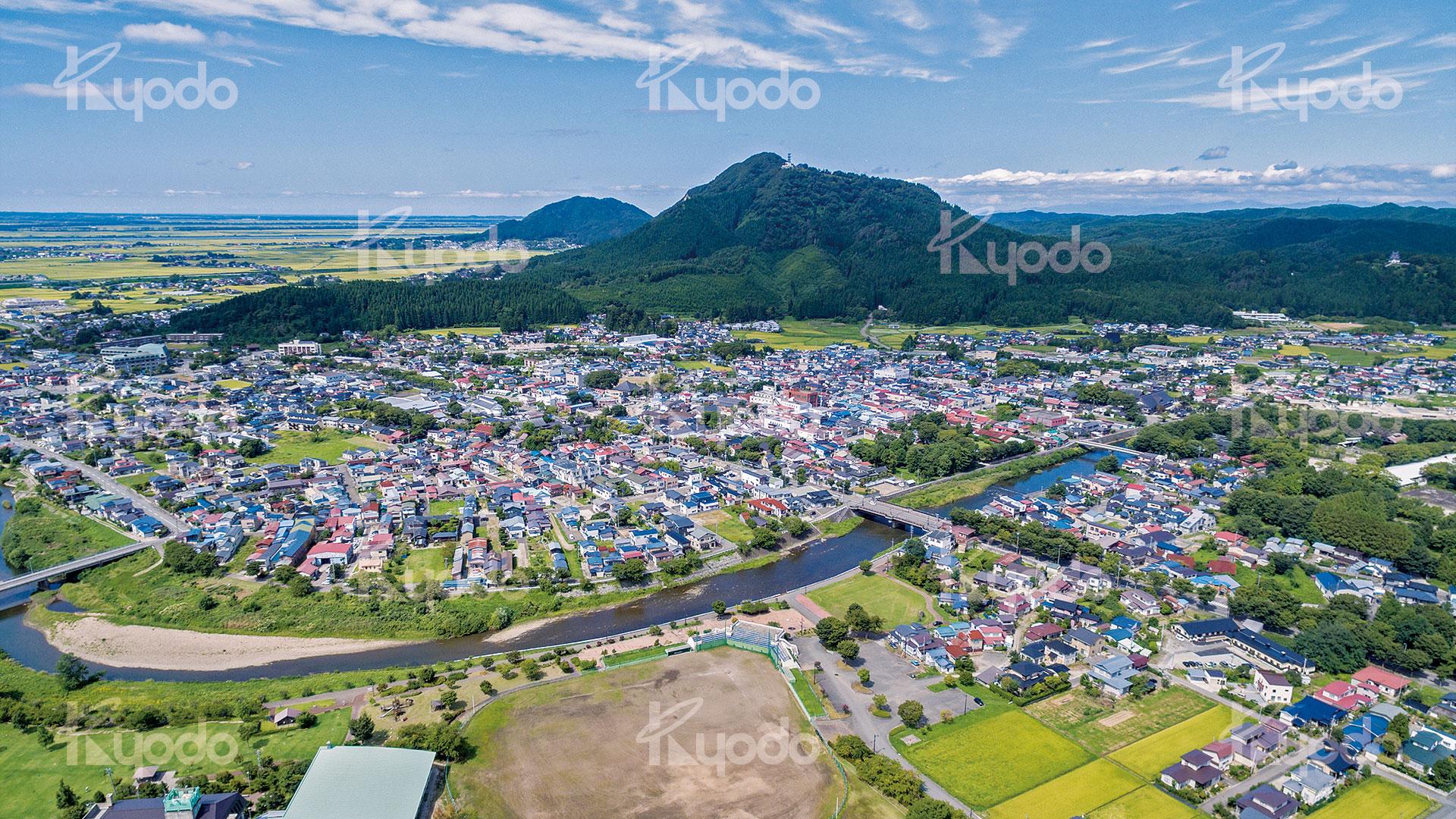 空撮事例 – 秋田協同印刷株式会社